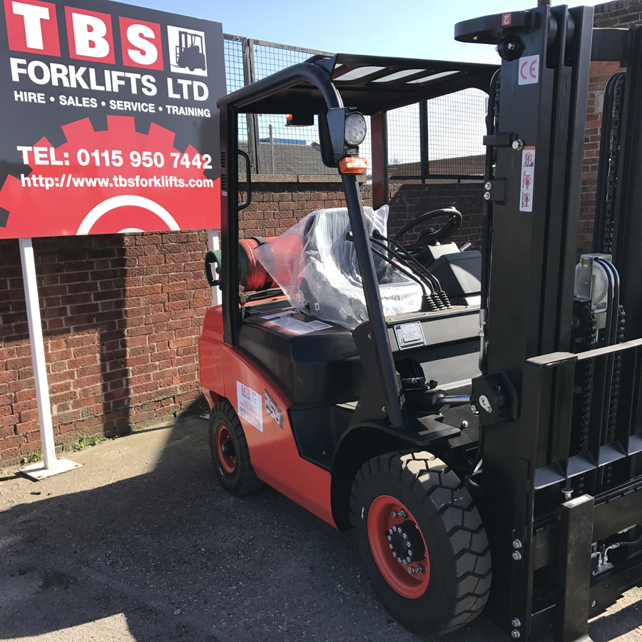 Training on Forklifts Picture